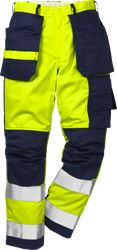 Flame high vis werkbroek klasse 2 2050 FBPA Fristads Kansas Medium