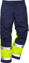 Flame high vis trousers cl 1 2051 FBPA Fristads Kansas Medium