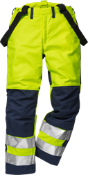 Flame high vis winter trousers cl 2 2049 FWA Fristads Kansas Medium