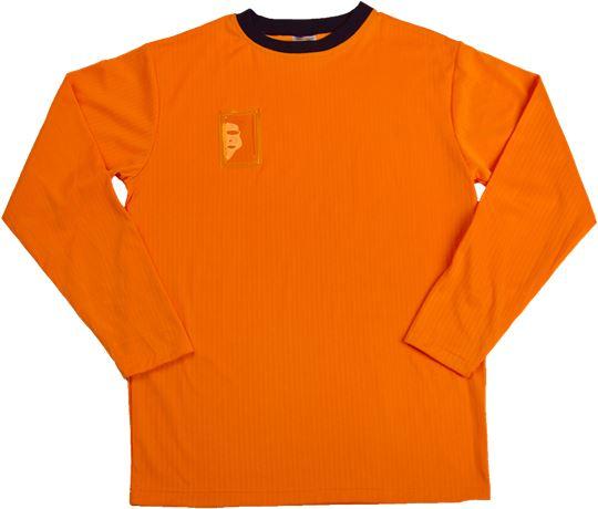 T-paita pitkähihainen, fluor.väri 1 Leijona  Large