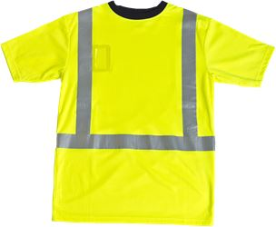 T-shirt med reflexer HiVis Leijona Solutions Medium