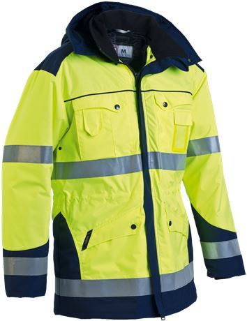Winter Parka Detachable Lining HiVis 1.0 1 Leijona  Large