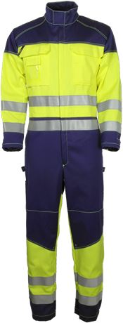 Coverall HiVis FR 1.0 1 Leijona Solutions  Large