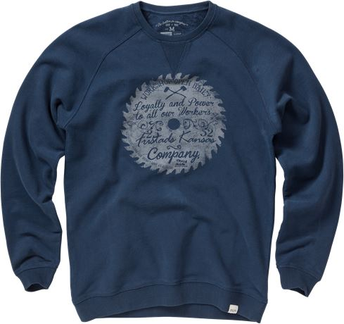 Sweatshirt 7008 LZS 1 Fristads Kansas  Large