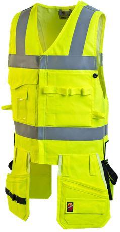 Tool Pocket Vest HiVis FR 1.0 1 Leijona  Large