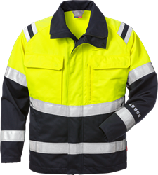 Flamestat high vis jacket cl 2 4176 ATHS Fristads Medium