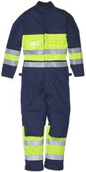 Coveral HiVis FR Antistatic 1.0 Leijona Medium