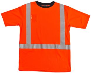 T-shirt, short sleeves, reflectors Leijona Medium