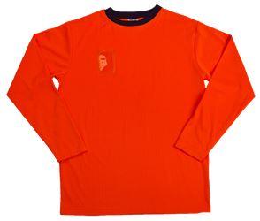 T-Shirt langärmelig, fluor. Farbe Leijona Solutions Medium