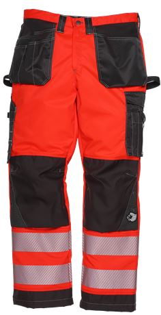 Tool Pocket Trousers HiVis 2.0 1 Leijona  Large