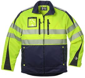 Jacka HiVis 2.0 Leijona Medium