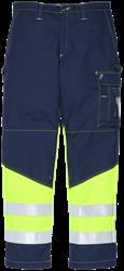 Trousers, FR, HiVis and antist. 203801-730 Leijona Medium