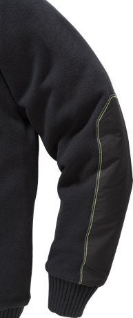 Stickad tröja 7100 BLK 5 Fristads Kansas  Large