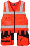Tool Pocket Vest HiVis 1.0 1 Leijona Small