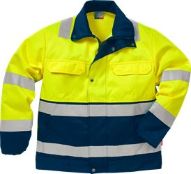 Hi Vis jakke kl.3 4794  Kansas Medium