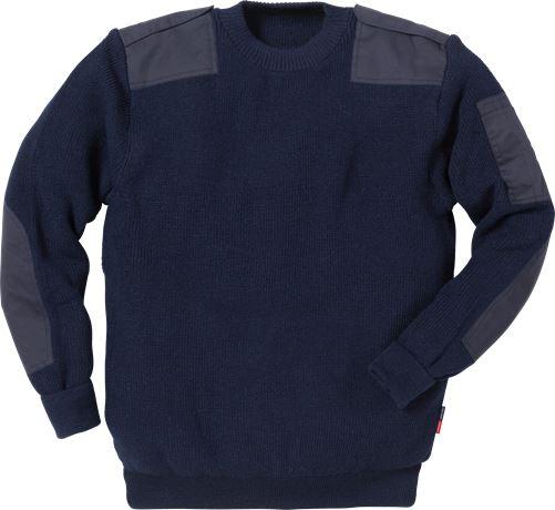 Knitted wool sweater 7418 WOP 1 Fristads Kansas  Large