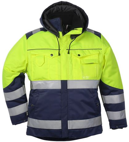 Ladies Winter Jacket HiVis 1.0 1 Leijona  Large