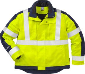 Flame high vis winterjack klasse 3 4852 FWA Fristads Kansas Medium
