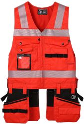 Tool Pocket Vest HiVis 2.0 Leijona Medium