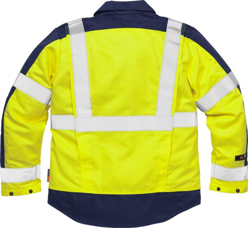 Flame High Vis Jacke Kl. 3 4846 FBPA 2 Fristads Kansas  Large