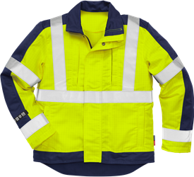 Flame high vis jacket cl 3 4846 FBPA Fristads Kansas Medium