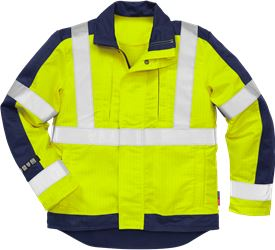 Flame high vis jack klasse 3 4846 FBPA Fristads Kansas Medium