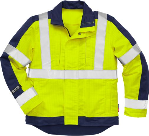Flame High Vis Jacke Kl. 3 4846 FBPA 1 Fristads Kansas  Large
