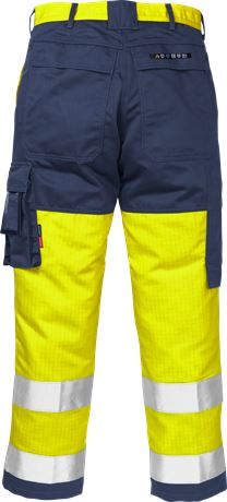 Flame high vis trousers cl 2 2042 FBPA 2 Fristads Kansas  Large