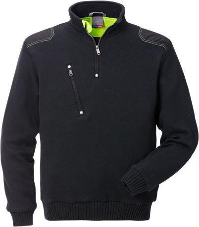 Stickad tröja 7100 BLK 1 Fristads Kansas  Large