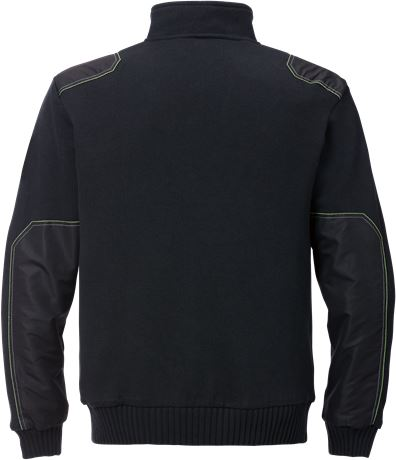 Stickad tröja 7100 BLK 2 Fristads Kansas  Large