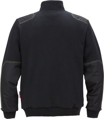 Knitted sweat jacket 7101 BLK 2 Kansas  Large