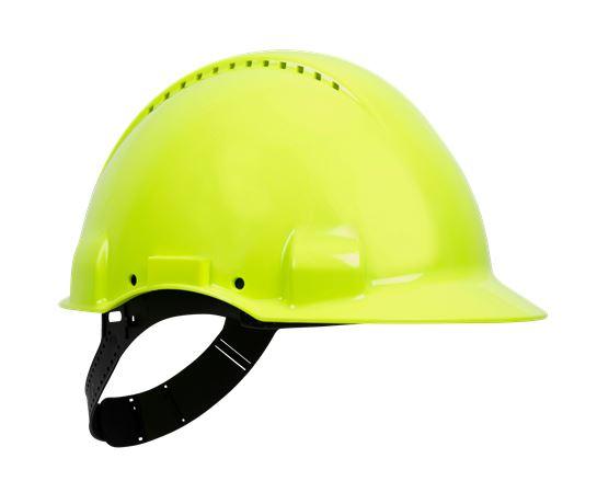 Helmet 3M G3000 Vent Fluo 1 Wenaas  Large