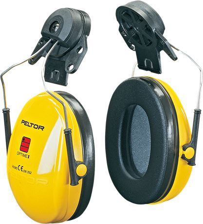 Earmuff 3M Optime1 Helmet P3E 1 Wenaas