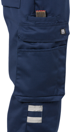 High vis trousers cl 1 213 PLU 4 Fristads Kansas Large