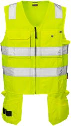 High vis waistcoat cl 2 5305 TH Fristads Kansas Medium