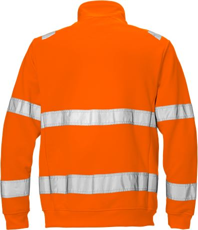 Hi Vis sweat jakke kl.3 7410 2 Fristads Kansas  Large