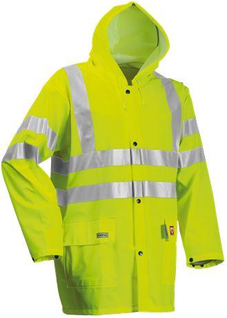 Rain Jacket HiVis FR 1 Leijona  Large