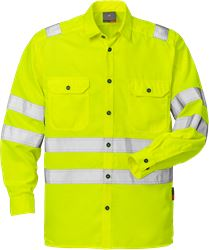 High vis shirt cl 3 7409 SPC Fristads Kansas Medium