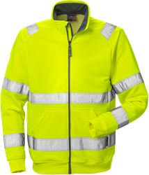 High vis sweat jacket cl 3 7410 BPV Fristads Kansas Medium