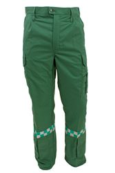 Bukse pol/bom refleks helse grønn herre Wenaas Solutions Medium