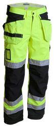 Hig-Vis Trouser CL 2 Wenaas Medium