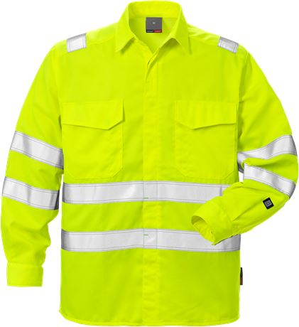 High Vis Shirt Kl. 3 7049 SPD 1 Fristads  Large