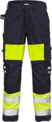 Flamestat high vis trousers woman cl 1 2776 ATHS Fristads Kansas Medium