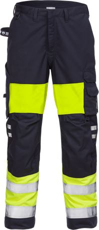 Flamestat high vis trousers woman class 1 2776 ATHS 1 Fristads  Large