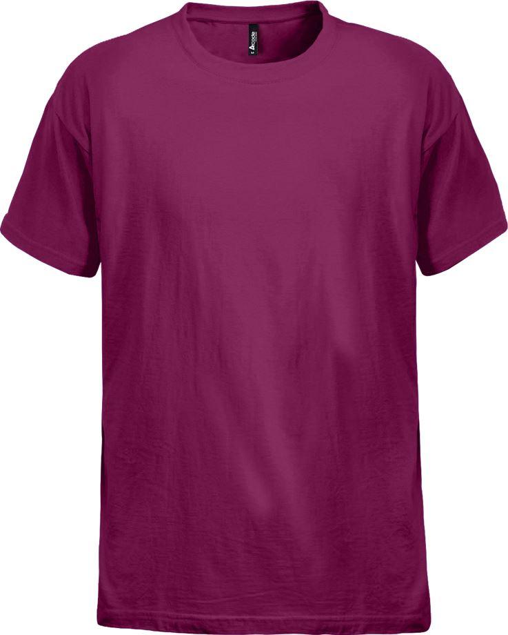 Fristads Men's Acode heavy T-shirt 1912 HSJ, Violett