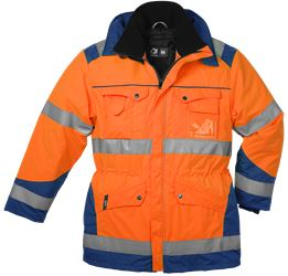 Winter Parka HiVis, detachable lining 237745-104 Leijona Solutions Medium