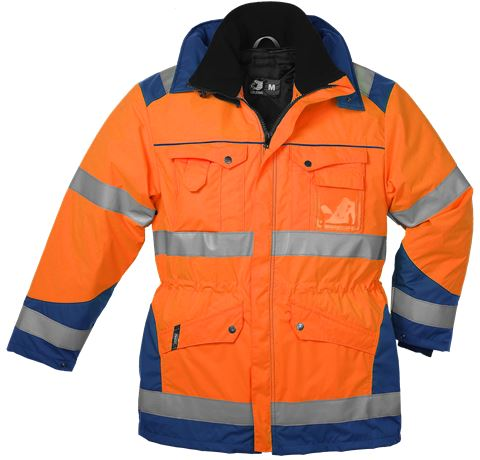 Winter Parka HiVis, detachable lining 237745-104 1 Leijona Solutions  Large