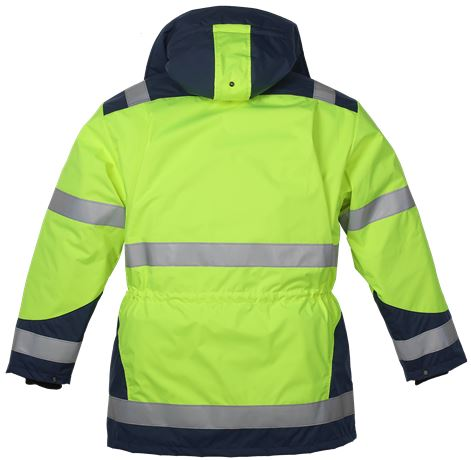 Parkas med löstagbart foder HiVis 1.0  3 Leijona  Large