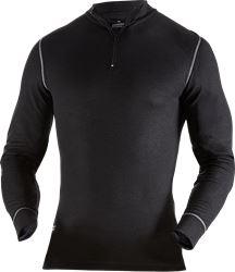 Zipper-T-Shirt Langarm 789 OF Kansas Medium