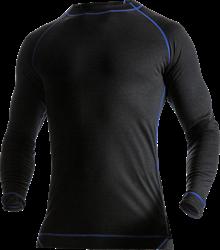 Merinould T-shirt lang ærme 7517 Fristads Kansas Medium
